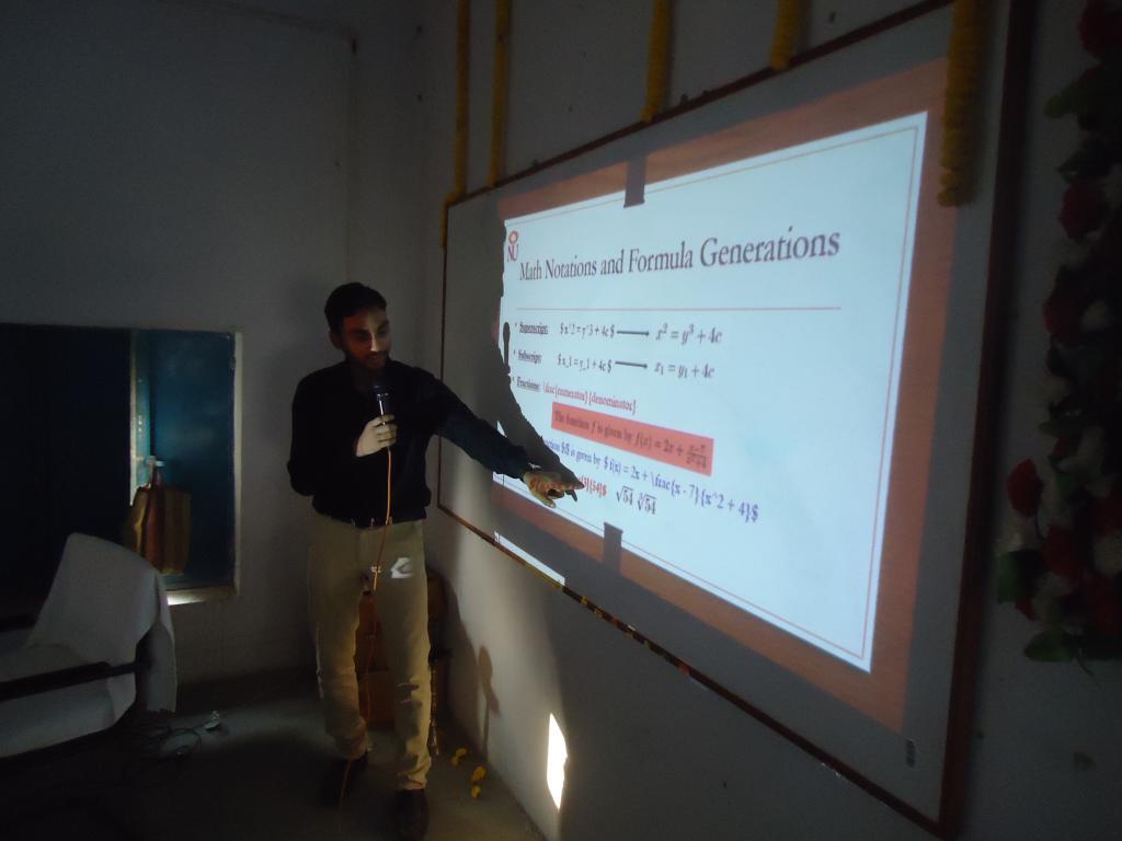 National Workshop on LaTeX (Nov 06, 2017)